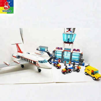 Jouet Transport Jeu D'aéroport Modèle Bloc Voiture Aéroport De Gros Avec Buy jouet Brique Chaude D'aéroport Ensemble jouet EDb2eWH9YI