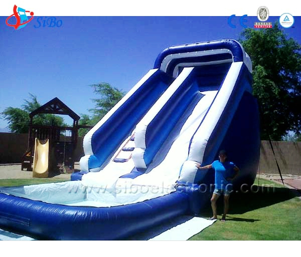 Inflatable car bed giant inflatable water slide adult bounce house
