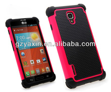 case cover for lg optimus f7,for F7 rubber mobile covers supplier low price made in China factory
