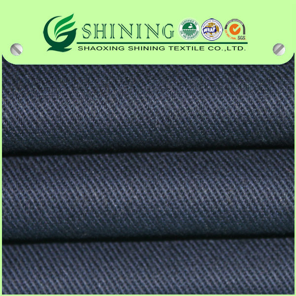 Heavy dyed 100%cotton twill 7*7/68*38 cotton twill fabric for pants