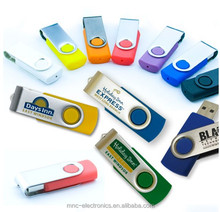 USB 3.0 high speed customized logo printing pendrive 8gb swivel type usb flash drive