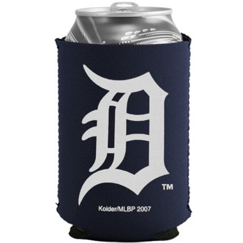 Detroit Tigers MLB Navy Blue Collapsible Can Cooler - 2 Pack