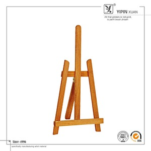 Hot Sale Free Sample 19.5*5.5*41cm Hot Sale Wooden Painting Studio Easel For Kids
