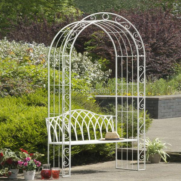 Cenador de hierro forjado jard n modelos arcos emparrados p rgolas y puente identificaci n del - Cenador para jardin ...