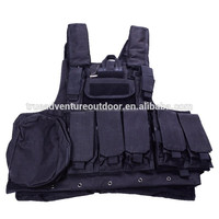 oxford multi-pocket camouflage military bulletproof outdoor tactical vest