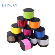 Mini S10 Portable Outdoor Wireless Speaker DJ Ibastek Blue tooth Speaker For Travel