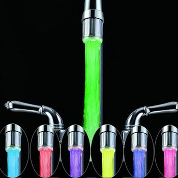 Rainbow Water Glow Led Faucet Light With Water Power Generator - Buy Led  Faucet Water Power Generator,Led Faucet Light,Water Glow Led Faucet Light
