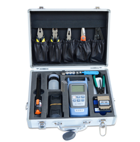 XC 7 In 1 Fiber Optic FTTH Tool Kit with FC-6S Fiber Cleaver Optical Power Meter