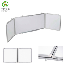 Magnetische Droge Wissen Opvouwbare <span class=keywords><strong>Whiteboard</strong></span> Met 3 stks Whiteboards