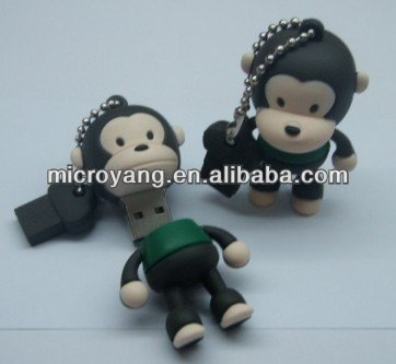 new style monkey shape usb gift,,cartoon animal shape usb flash drive
