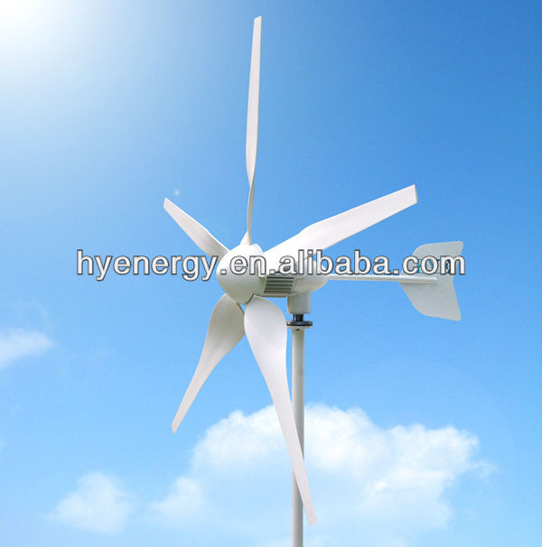 600W wind generator system turbine wind mill power