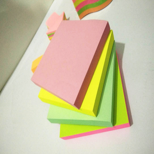 Accept customized logo printing sticky note