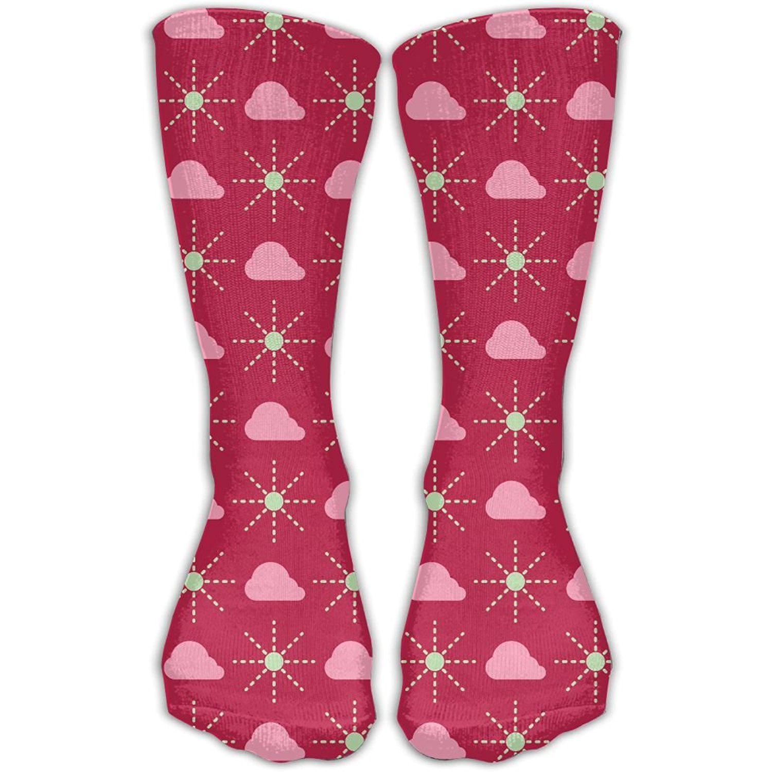 5939581e3 Get Quotations · XYMNZGS Flower Fun Womens Socks Womens Dress Crew Socks  Softball Girl Socks