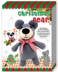 Cheapest Christmas Bear doll Crochet Kit diy doll kit