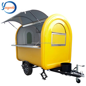 Beauty Buy Mobile Ice Cream Dining Box Food Van Trucks for Sale YG-LC-01S fast food truck for sale