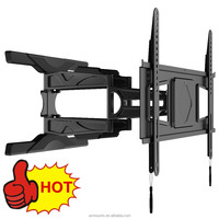 Folding Motorized Stainless Steel TV wall mount