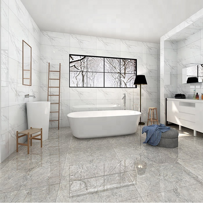 Hot Le White Marble Look