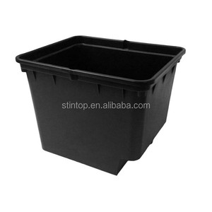 Greenhouse Beige Black Dutch Buckets Planting Pots For Hydroponic