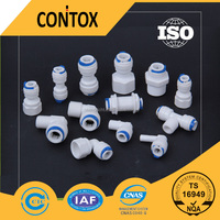 Q1 White Plastic Quick Fittings,Push Fit Water Filter Pipe Fitting ...