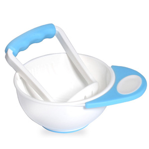 Wholesale BPA Free Baby Food Grinding Bowl for Homemade Infant Food