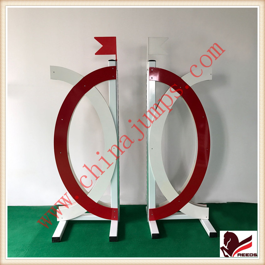Horse show jumps aluminum material equestrian products jump wings