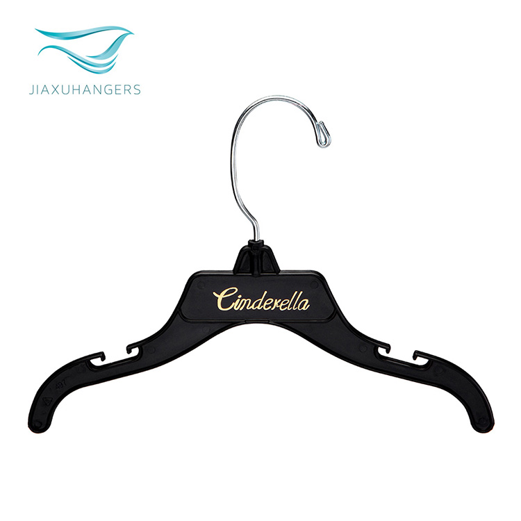 Wholesale high quality plastic hanger metal hook for clothes hanger for children