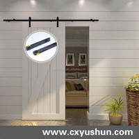 Interior decorative designs sliding barn door hardware kit