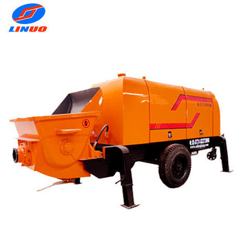 Hbt Stationary Diesel Concrete Pump On Sale - Buy Concrete Equipment  Manufacturers,Homemade Concrete Pump,Conco Concrete Pumping Product on