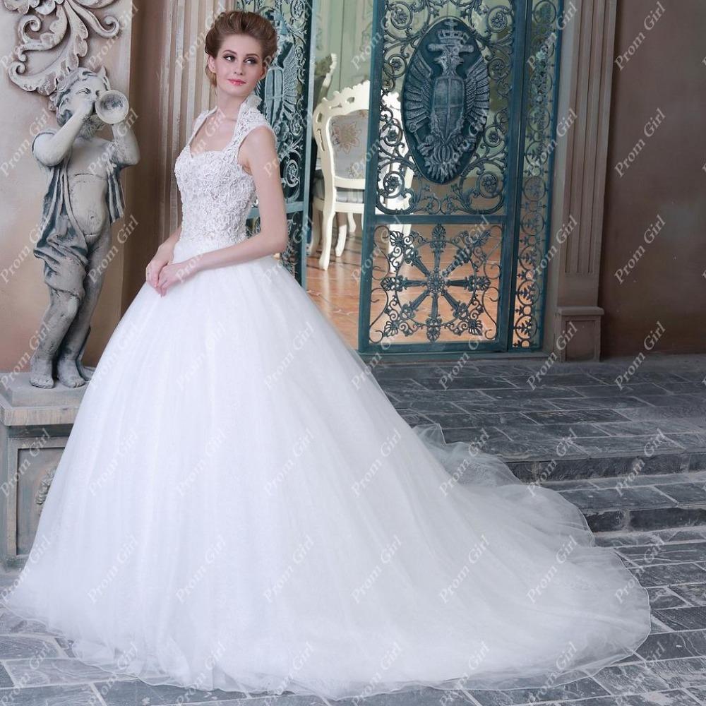 Ball Gown Wedding Dresses Tank Sweetheart Neckline Elegant