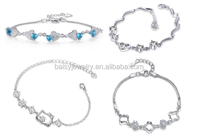 Factory price best 잘 팔리는 패션 sterling silver jewelry 바 목걸이
