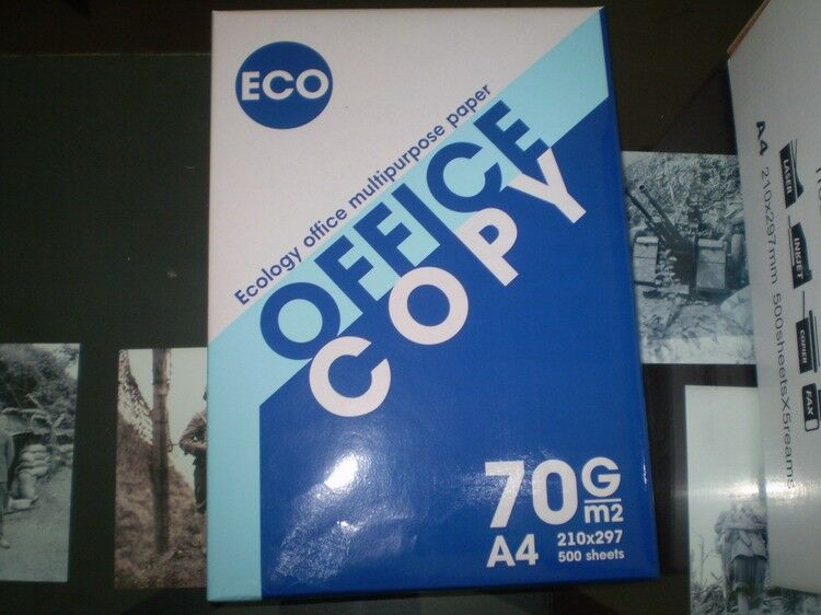 high quality white a4 copy paper manufacture in china