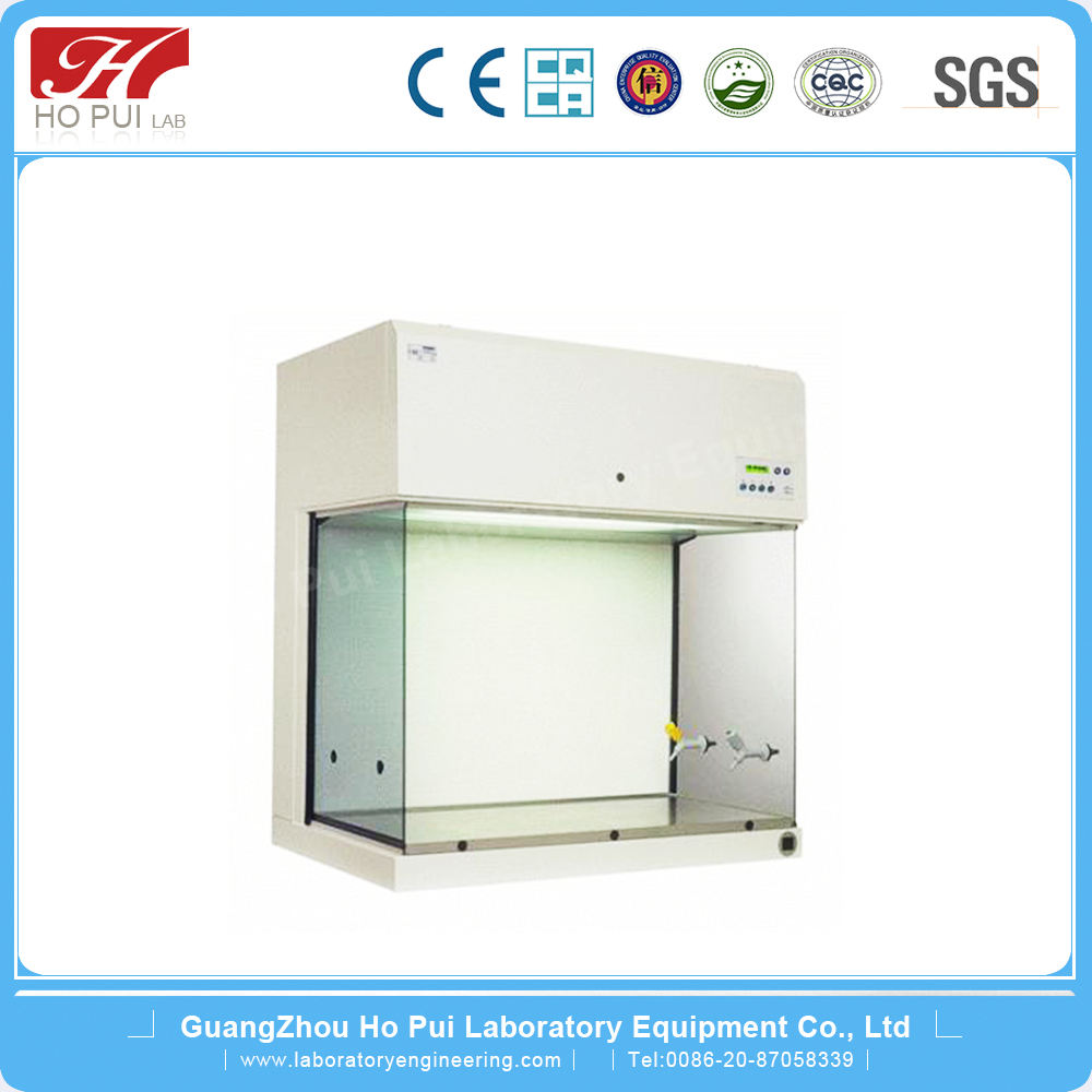 Mobile vertical laminar flow hood /lab clean bench in Guangzhou laboratory extractor