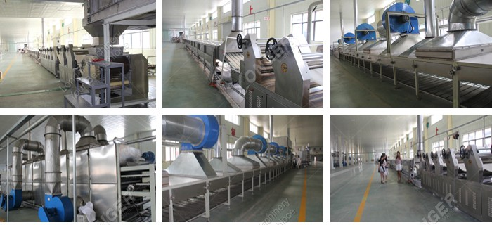 Commercial Fried Instant Noodles Machine Production Line Price