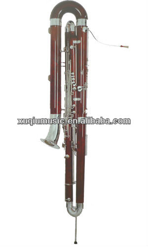 Bass Bassoon/C Key Bass Bassoon With Silver Plated Keyys