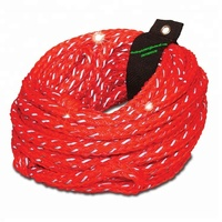 Heavy Duty 16 strand tube Tow Rope for trucks with reflective tape