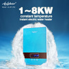 2014 hot instant electrical induction water geyser 220V 1.0-8.0kw