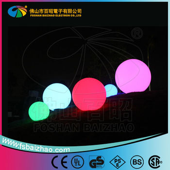 iPhone control color change Waterproof Outdoor LED Ball