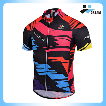 Dream Sport Sublimated Cool Cycling Jerseys Men With Bib Shorts ... a81239899