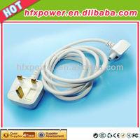 Original UK Plug Extension Cords & Socket for Macbook