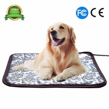 Pet Heating Mat Waterproof Adjustable Dog and Cat Heating Bed Heated Pet Pad Pet Warmer