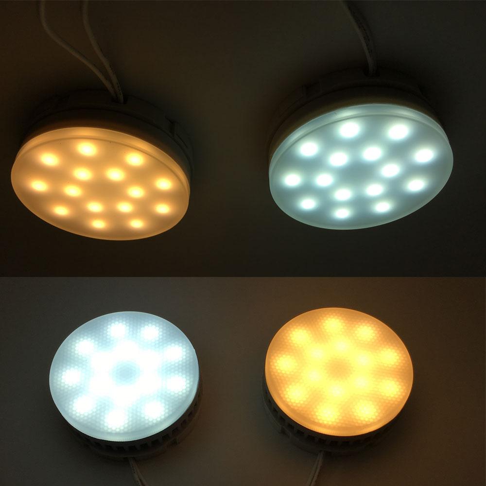 free shipping led bulb gx53 5w 7w 9w gx53 led lamp 220v 240v without gx53 base warm cold white. Black Bedroom Furniture Sets. Home Design Ideas
