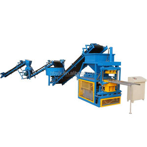 Small interlocng clay brick making machine HBY2-10 Lego bricks making equipment