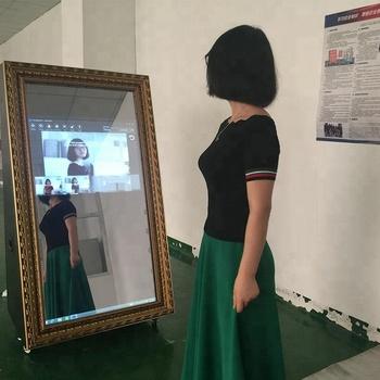 Nhà Máy Bán Buôn Props Photobooth,Gương Tôi Selfservice Ảnh Gian Hàng,Hot  55 '' Photo Booth Bán Hàng - Buy Bán Buôn Props