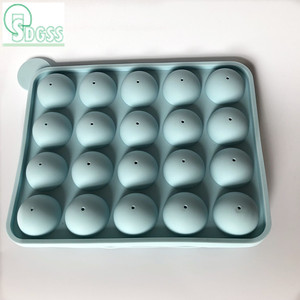 Best selling silicone lollipop molds or round silicone baking mold