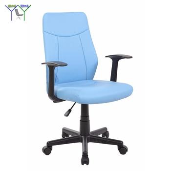 Ergonomic Office Furniture Supplies Swivel Leather Wheel Lock Chair