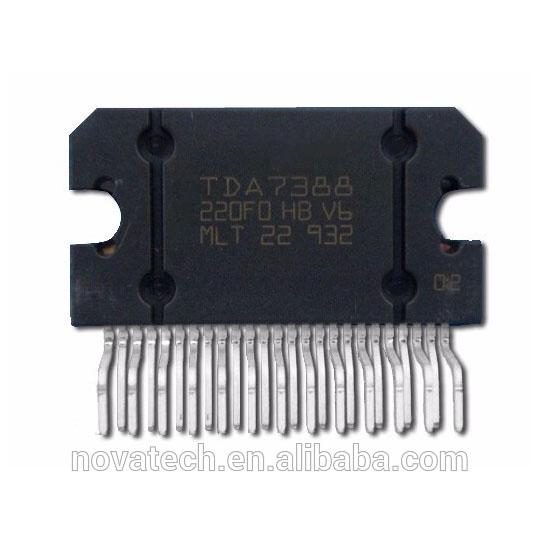 बीओएम pcba पीसीबी श्रीमती servier, सूची इलेक्ट्रॉनिक आइटम 4-चैनल ऑडियो शक्ति एम्पलीफायर आईसी tda7388