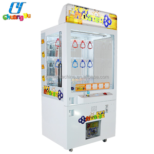 Cheap Price Coin Push Operated Price Gifts Key Master Automatic Vending Game Machines