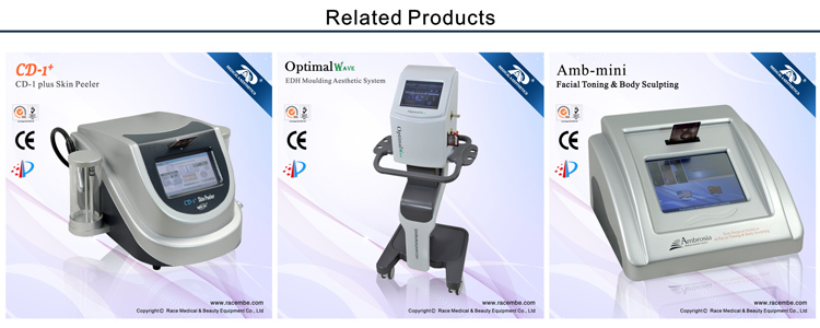 Amb-Master 2012 Newest RACE best microcurrent face lifting and body slimmer machine(18 years manufacture with CE,ISO13485)