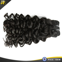 High quality of new hair style jerry curl 100% human hair extention
