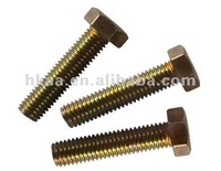 China low price hex head bolt